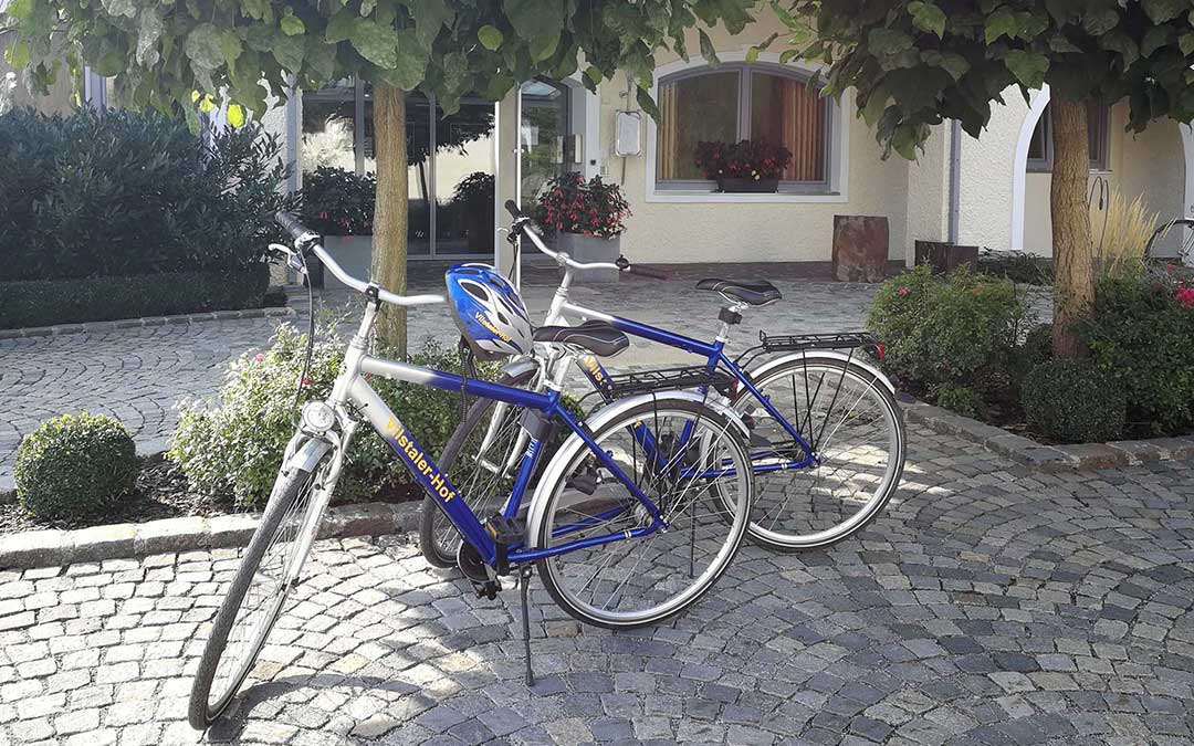 Joggen / Wandern / Radeln rund um den Vilstaler Hof
